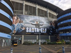 Manchester City Etihad wrap