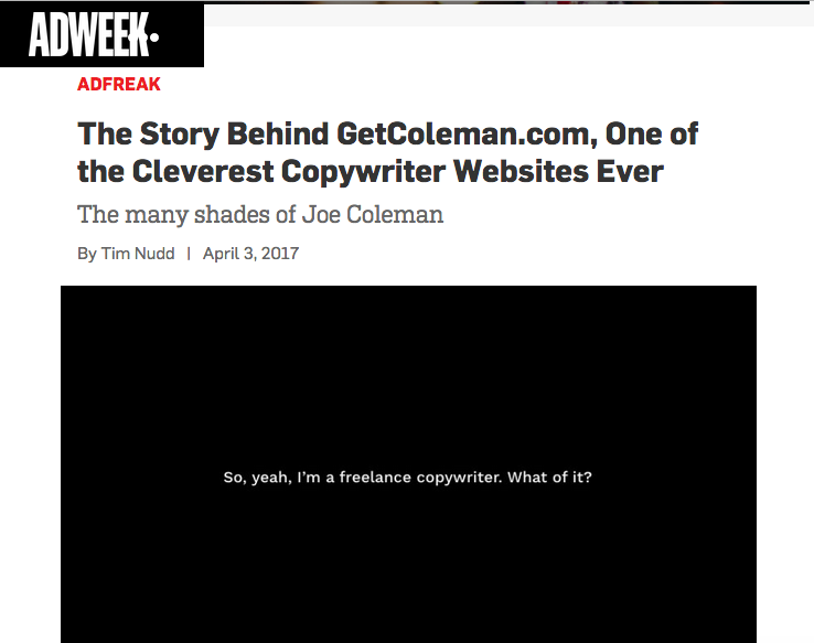 News | Joe Coleman